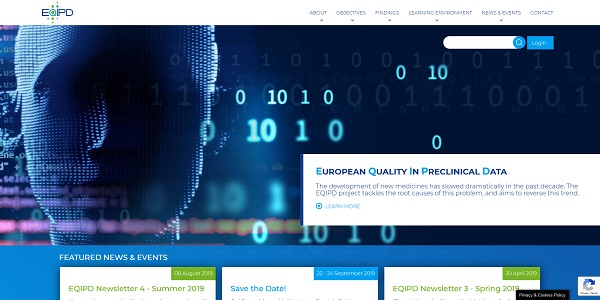 EUROPEAN QUALITY IN PRECLINICAL DATA